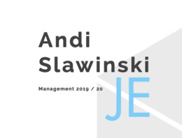 <b>Andi Slawinski - Coming Next</b>