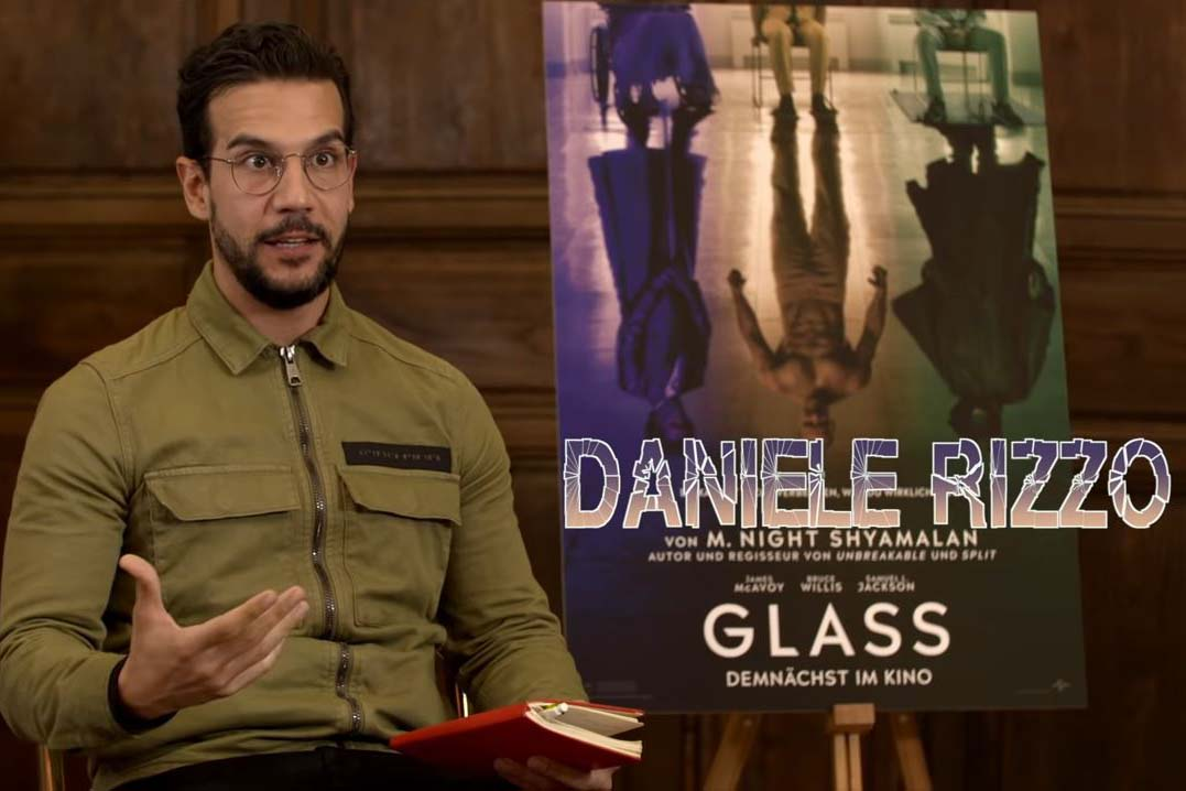 Daniele and The Talented Mr. Rizzo: Glass